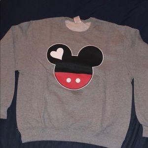 Disney Mickey crewneck sweatshirt